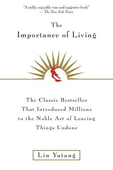 The Importance Of Living book cover