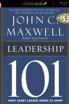 Leadership 101 book cover