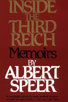 Inside the Third Reich book cover