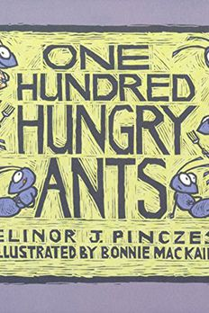 One Hundred Hungry Ants book cover