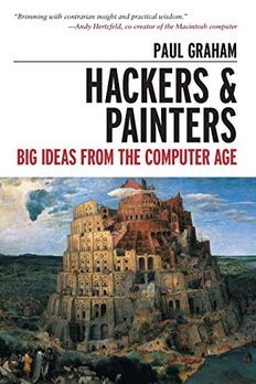 Hackers & Painters book cover