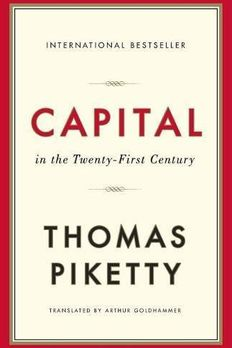 Capital in the Twenty-First Century book cover
