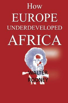 How Europe Underdeveloped Africa book cover