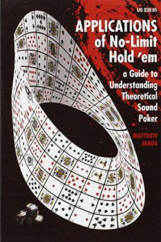 Applications of No-Limit Hold em book cover