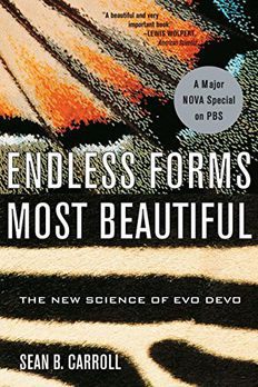 Endless Forms Most Beautiful book cover