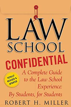Law School Confidential book cover