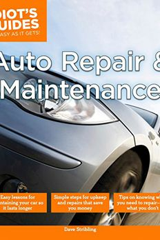 Auto Repair and Maintenance book cover