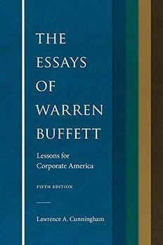 The Essays of Warren Buffett book cover