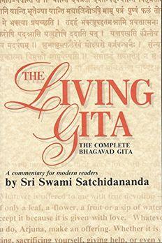 The Living Gita book cover