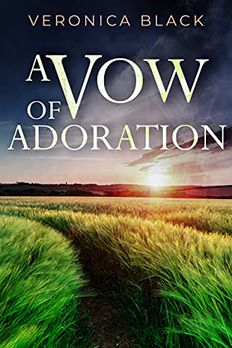 A VOW OF ADORATION an utterly gripping crime mystery book cover