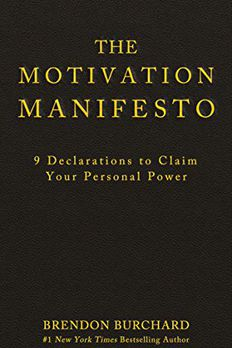 The Motivation Manifesto book cover