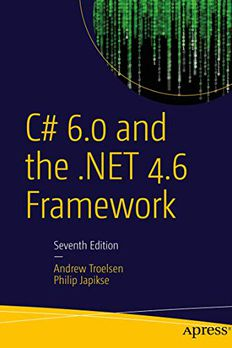 C# 6.0 and the .NET 4.6 Framework book cover