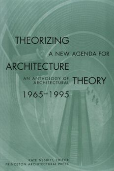 Theorizing a New Agenda for Architecture book cover