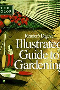 Illustrated guide to gardening book cover
