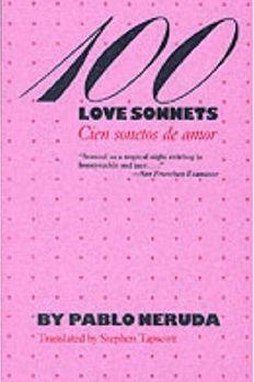 100 Love Sonnets book cover