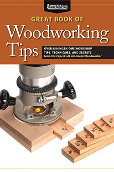 Great Book of Woodworking Tips book cover