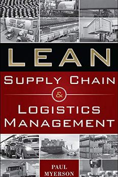 Lean Supply Chain and Logistics Management book cover