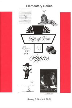 Life of Fred--Apples book cover