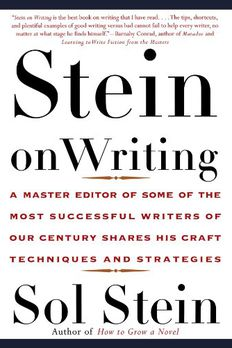 Stein On Writing book cover
