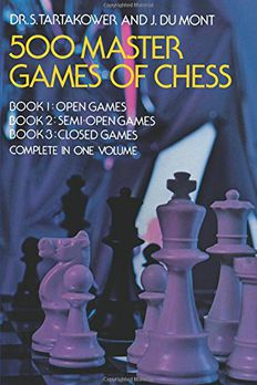 500 Master Games of Chess book cover
