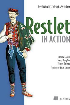 Restlet in Action book cover