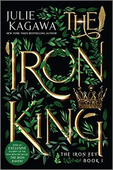 The Iron King book cover