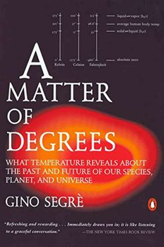 A Matter of Degrees book cover