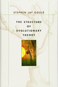 The Structure of Evolutionary Theory book cover