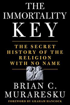 The Immortality Key book cover