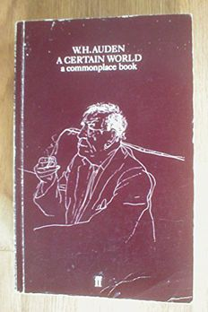 A Certain World book cover