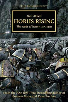 Horus Rising book cover