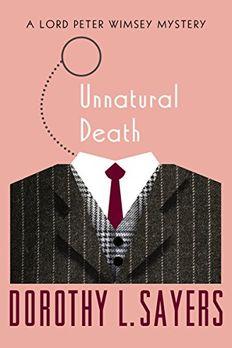 Unnatural Death book cover