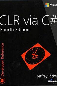 CLR via C# book cover