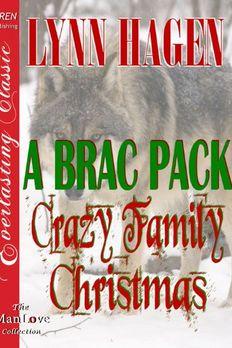 A Brac Pack Crazy Family Christmas book cover