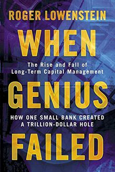 When Genius Failed book cover
