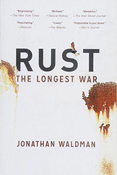 Rust book cover