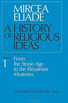 A History of Religious Ideas, Volume 1 book cover