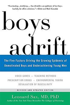 Boys Adrift book cover