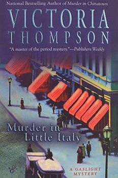 Murder in Little Italy book cover