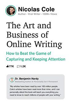 The Art and Business of Online Writing book cover