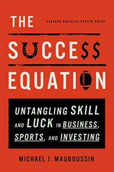 The Success Equation book cover