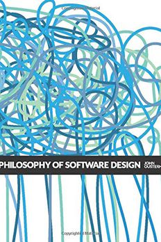 A Philosophy of Software Design book cover