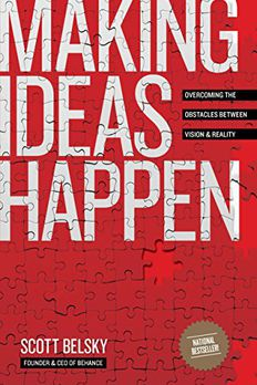 Making Ideas Happen book cover