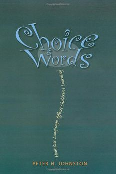 Choice Words book cover