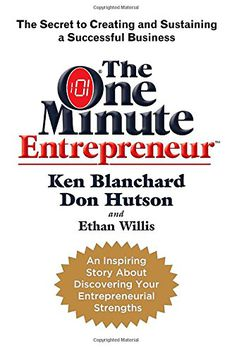 The One Minute Entrepreneur book cover