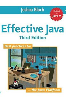 Effective Java book cover