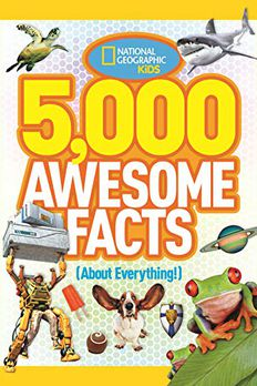5,000 Awesome Facts book cover