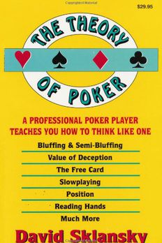 The Theory of Poker book cover