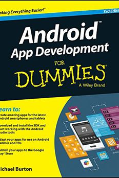 Android App Development For Dummies book cover