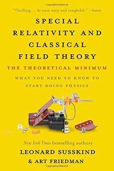 Special Relativity and Classical Field Theory book cover